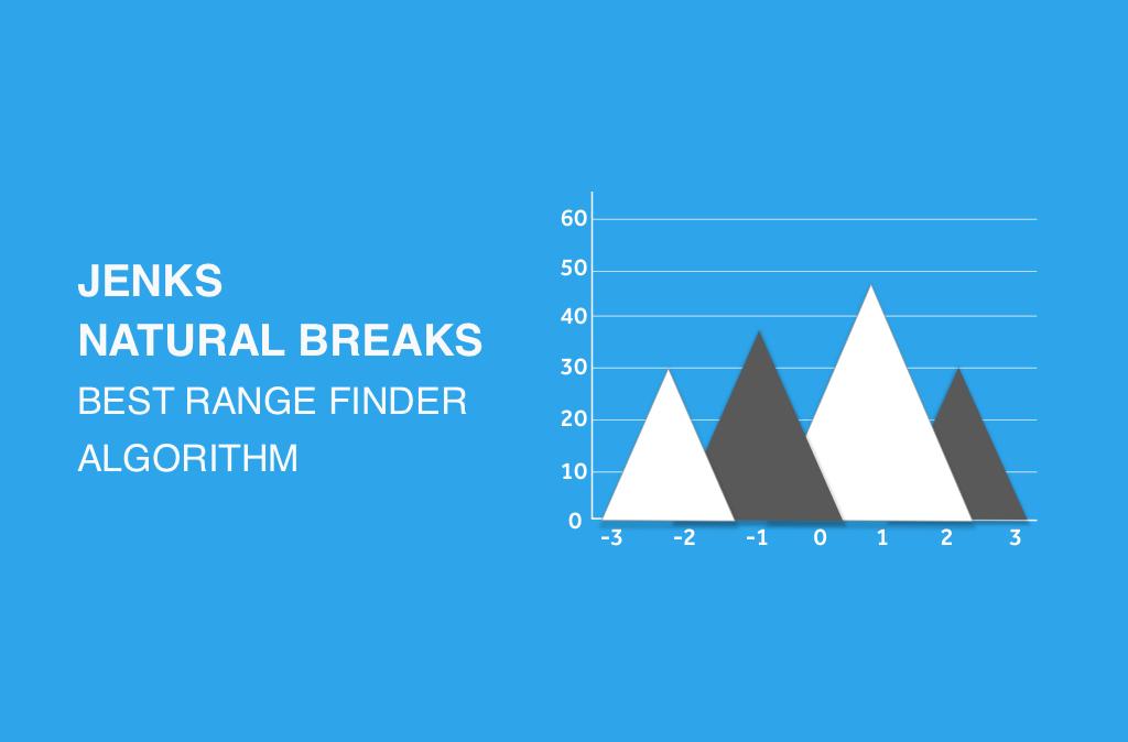 Jenks Natural Breaks Best Range Finder Algorithm